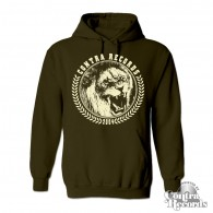 "Contra Records - ""Lion"" - Hoody dark brown"