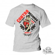 "Contra Records - ""Are You Ready"" T-Shirt grey 15Years of Contra Edt."