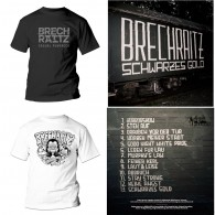 "Brechraitz - ""Schwarzes Gold"" - #package deal 12""GF-LP+T-Shirt"