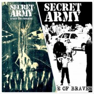 Secret Army - package dea l# The edge of bravery CD+Crush the remains CD