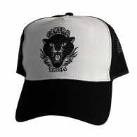 """Contra Records """"Black Panther"""" - Trucker Cap black on black/white"""