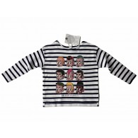 "Contra Kids Wear  - ""Subculture Kids"" Longsleeve Shirt navy/white"