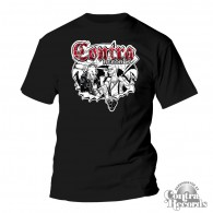 Contra Records - Punk & Skin - T-Shirt black