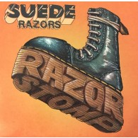 "Suede Razors - Razor Stomp 12""LP lim.450 orange splatter"