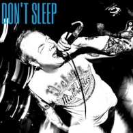 "Don't Sleep - s/t 12""Single Sided etched-LP,Repress lim.100 purple"