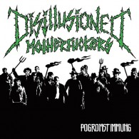"""Disillusioned Motherfuckers - """"Pogromstimmung"""" - 7""""EP lim. 300 toxic green"""