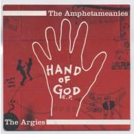 "V/A Amphetameanies,The /  Argies* - Hand Of God split 7""EP"