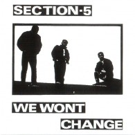 Section-5 - We Won't Change CD + Bonustracks