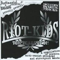 V/A Riot-Kids - Ten Years Of Oi! - CD+Bonustracks