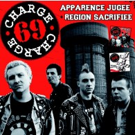 "Charge 69 ‎- ""Apparence Jugee"" + ""Region Sacrifiee"" CD"