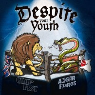 "V/A Gimp Fist / Anger Flares - Despite Your Youth 12""M-LP lim.500 Blue"