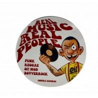 "Contra Records - Real Music... - 12"" Slipmat"
