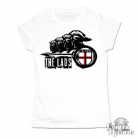 The Lads - Realpunk Girl Shirt white