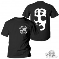 "Slapshot - ""Big Mask"" T-Shirt black front/backprint"