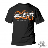 "Subculture for Life - ""don't tread on them"" Snake T-Shirt black"