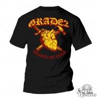 """Grade 2 - """"heart of gold"""" T-Shirt black"""