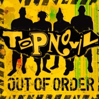 "Topnovil - Out Of Order 12""LP lim.400 green yellow splatter"