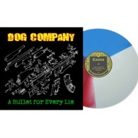 "Dog Company - A bullet for every lie 12""LP+CD lim.200 tri-color"