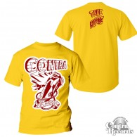 "Contra Records ""Die Hards"" T-Shirt lim. 25pcs yellow (15Years of Contra Edt.)"