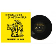"Concrete Bollocks - ""Disasters of War"" - 7""EP lim. 200 black"