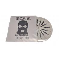 "Denim - Skimask Justice Demo 7""EP with printed B-side lim.110 white"