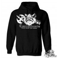 Contra Records - antisocial Viking - Hoody black