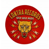 "Contra Records - Wild Wild Music - 12"" Slipmat"