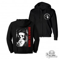 "Bonecrusher - ""Angry Youth"" - Zip Hooded Jacket black"