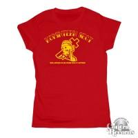 """Komintern Sect - """"Des Jours Plus Durs Que D'Autres"""" - Girl Shirt cardinal red"""