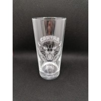 """Contra Records """"Black Panther"""" - Drinking Glass"""