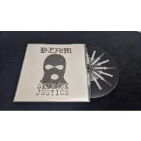 "Denim - Skimask Justice Demo 7""EP with printed B-side lim.157 black"