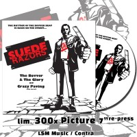 "Suede Razors - The Bovver & the Glory 7""Picture-EP"