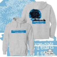 "Subculture For Life - ""small man..."" Hoody grey front/backprint"
