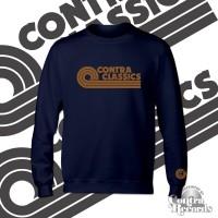CONTRA CLASSICS - Crewneck Sweatshirt lim.25 navy blue