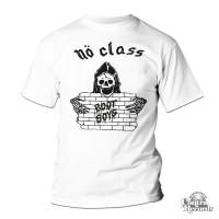 "No Class - ""Nö Class Bootboys"" - T-Shirt white (PRE ORDER)"