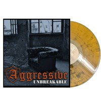"Aggressive - ""Unbreakable"" - 12""GF-LP lim.100 orange black marbled Band excl. (PRE ORDER)"