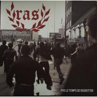 """R.A.S. - Pas le Temps de Regretter 12""""LP 3rd press lim.500 clear"""