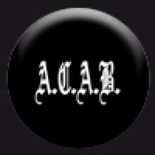 Button - A.C.A.B.(25mm)
