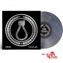 """CRIM - """"10 Anys Per Veure Una Bona Merda"""" - 12""""LP lim.100 clear Contra excl. (PRE ORDER)"""
