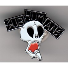 Subhumans - Metal-Pin