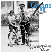 "Gatans Lag ‎- Boråspolisen Blues 7""EP lim.clear with blue splatter"