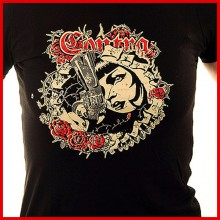 Contra - Gun - Girl Shirt- XS (last size!!)