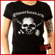 Ghostbastardz - Skull - Girl Shirt