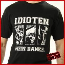 Idioten nein Danke - T-Shirt-XXL (Last size!!)