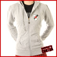 Roter Stern Leipzig grey - Girl Hoody (last sizes!!)
