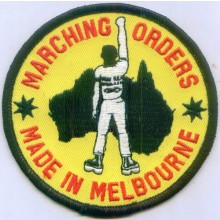 Patch - Marching Orders Yellow