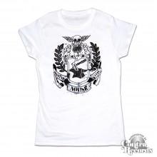 Noi!se - Wappen white - Girl Shirt