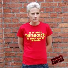 The Ruckers - Schriftzug - Girl Shirt red