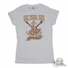 On the Job - Rock'n'Oi! - Girl Shirt grey