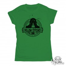 Yellow Stitches - Girl Shirt - green